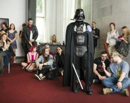 The lecture Star Wars vs. Reality. What Space Can We Expect Behind the Screen? by LuckyBooks on Kyiv ComicCon