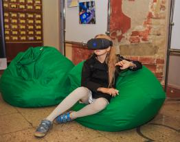 The virtual reality project Meet The Tukoni visited the 25th Book Forum in Lviv.